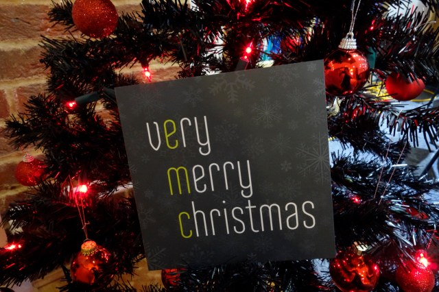 emc's Christmas card