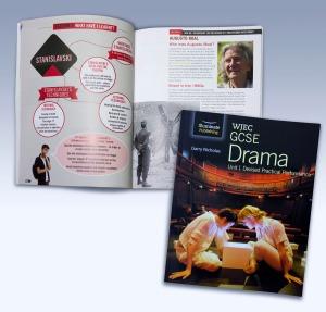 WJEC GCSE Drama by Illuminate Publishing (page design by emc design)