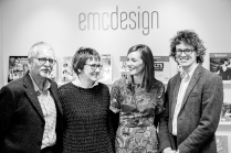 emc design is a family run business – Mike, Binny, Sophie and Sam.
