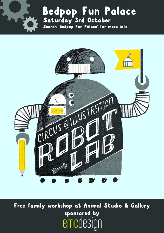 Circus of Illustration's Robot Lab